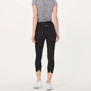 Lululemon On Your Mark Crop Size 4 worn once!!